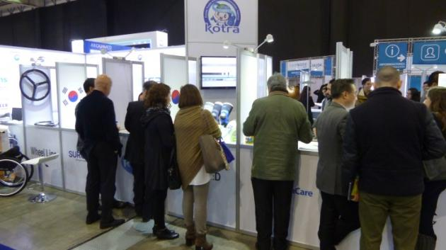 Korean delegation attends medical expo in Chile