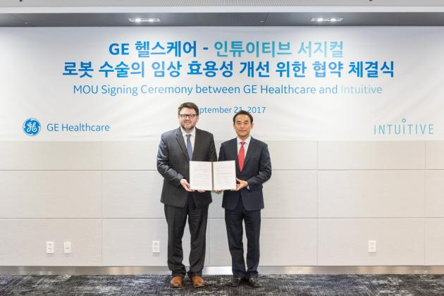 GE Healthcare signs MOU with Intuitive Surgical