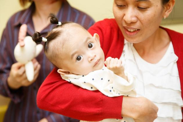 SNUBH doctors give new chance at life to Cambodian baby