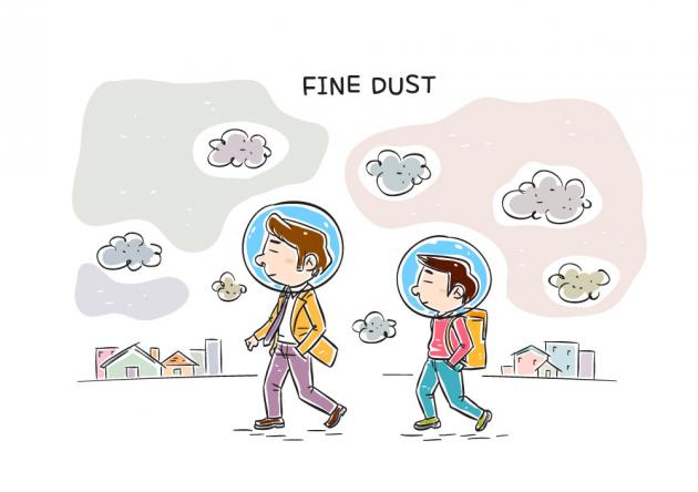 Fine dust: cause depression, gene mutation