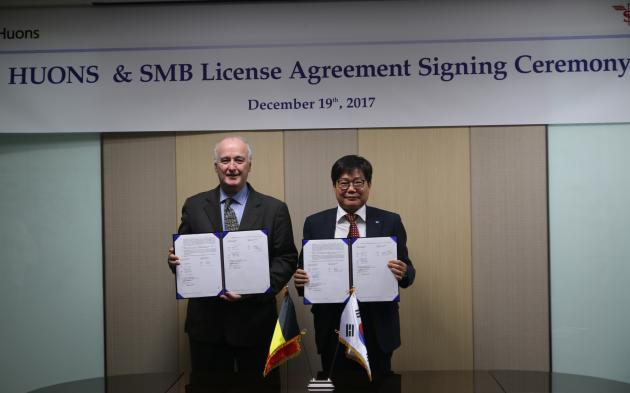 Huons, SMB sign license agreement for Zephirus