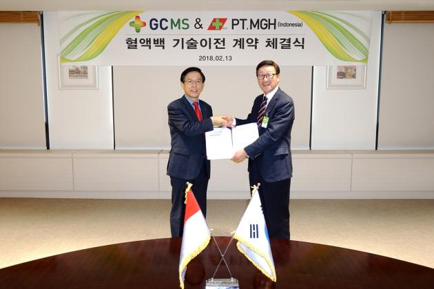 GCMS, PT.Mitra Hanindo sign ₩40 billion licensing agreement for blood pack