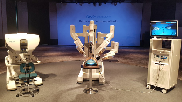 Locally developed surgical robot unveiled