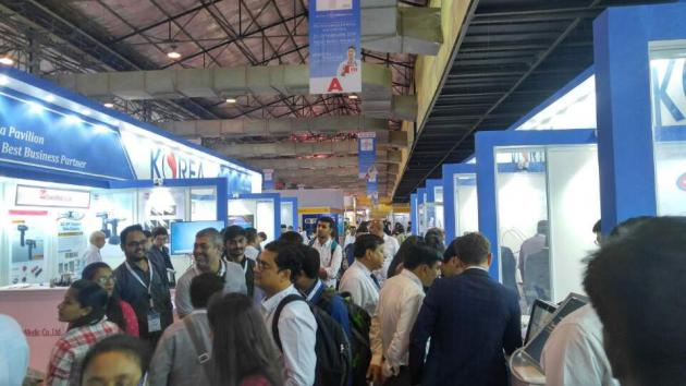 Korean medical device firms take part in Medical Fair India