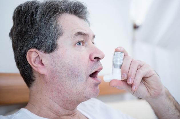 One out of 10 elderly has asthma