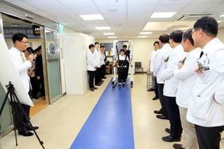 Severance Hospital opens 1st robot-aided rehabilitation facility