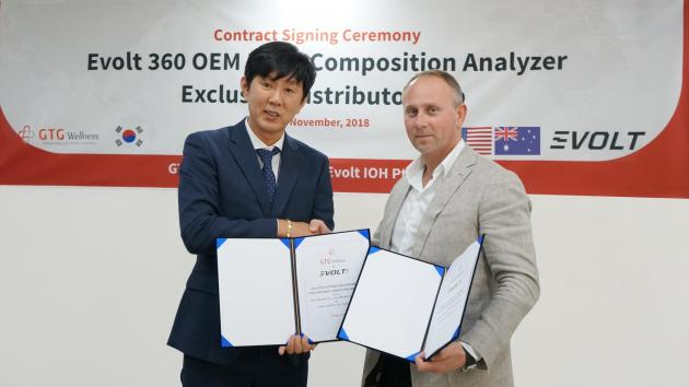 GTG Wellness to export body composition analyzer to Australia