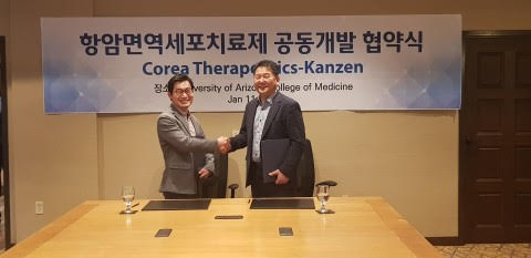Kanzen, Corea Therapeutics to co-develop next-generation anticancer immune cell therapy