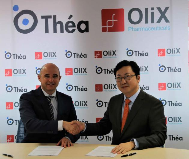 Thea, OliX to cooperate in developing age-related macular degeneration treatment
