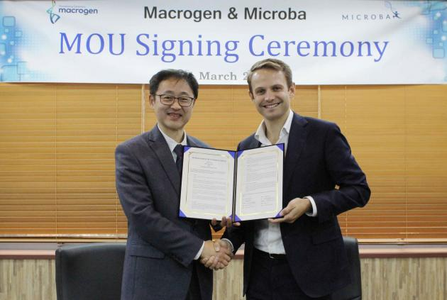 Macrogen, Microba to cooperate on microbiome research