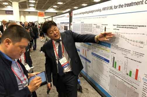 Hanmi unveils strong pipeline candidates in US diabetes meet