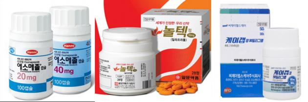 Korean drugs strong in anti-reflux treatment market