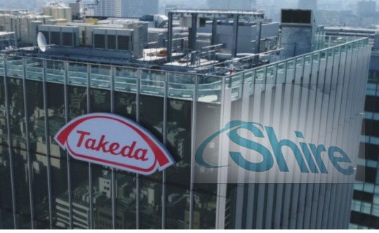 Conflict erupts between employees of Takeda, Shire during merger