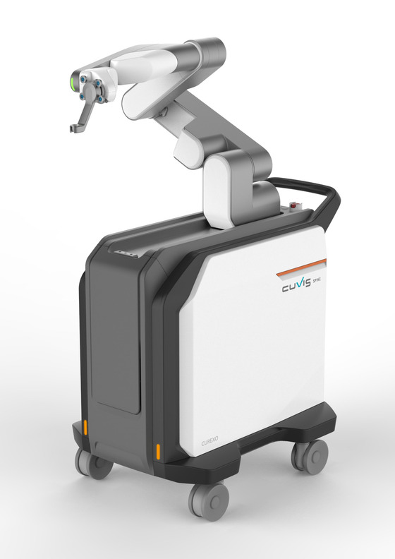 Curexo launches 1st locally developed spine surgery robot