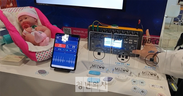 [CES 2020] Single patch monitors electrocardiogram in real-time