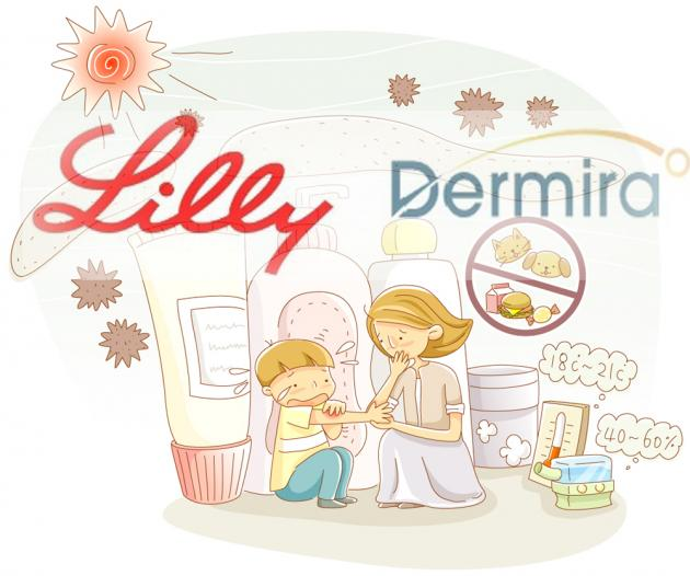 Lilly secures atopic dermatitis drug through Dermira acquisition