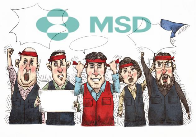 MSD Korea workers unhappy with spinoff plan