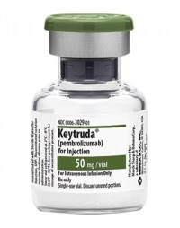 'Keytruda doubled survival in advanced colon cancer compared to chemo'
