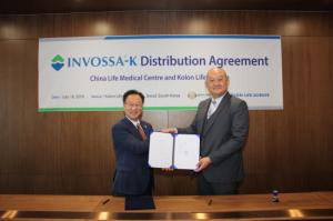 Kolon Life Science inks deal to sell Invossa to China