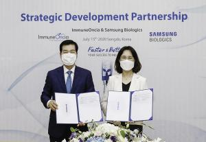 Samsung Biologics to develop 5 more cancer therapies of ImmuneOncia